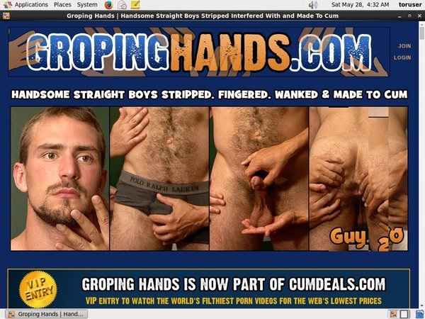 Accounts Gropinghands.com Free