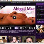 Free Abigail Mac Membership