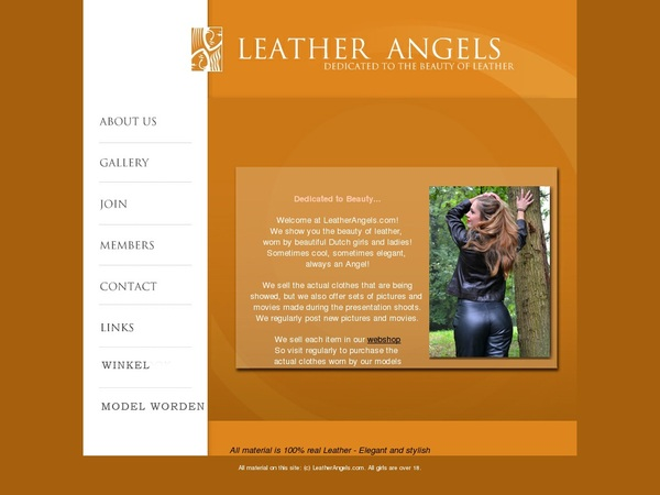 Leather Angels Password Info