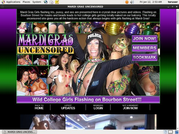 Mardigrasuncensored.com Mobile