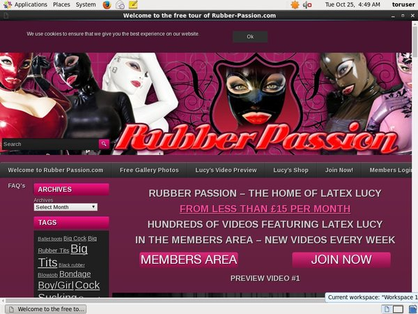 Rubber Passion User And Pass