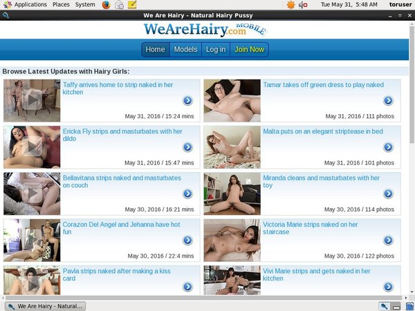 Wearehairy.com Free Accounts And Passwords