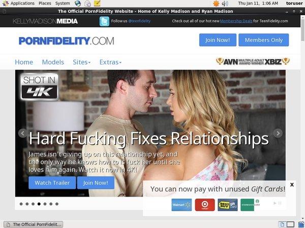 Porn Fidelity Member Sign Up